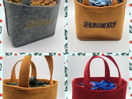 Fülle deine Tasche mit Lieblingssachen für deinen Lieblingsmenschen