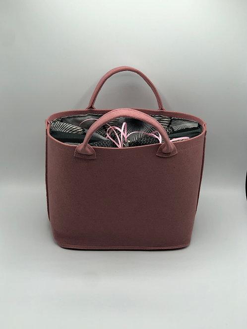 Tasche Filz rose