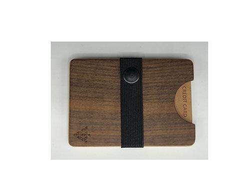 Karten Etui Holz