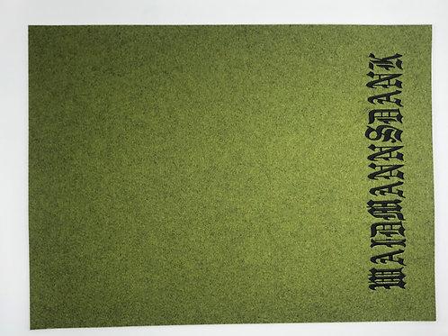 Tischset Waidmannsdank