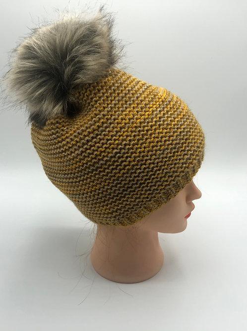 Mütze maisgelb
