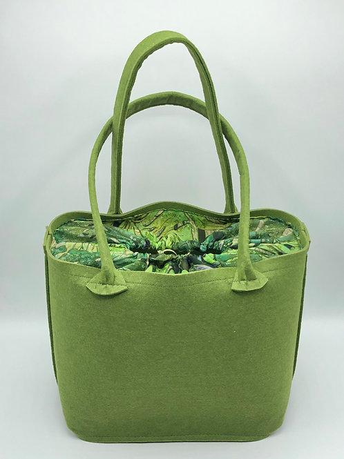 Tasche Apfelgrün Blatt