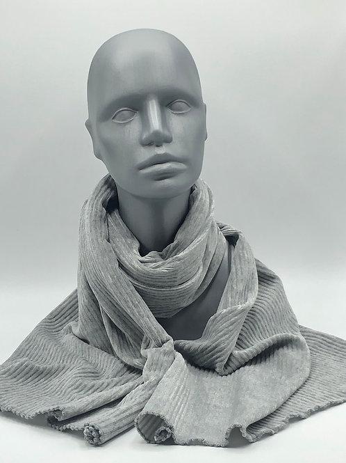 Schal grau