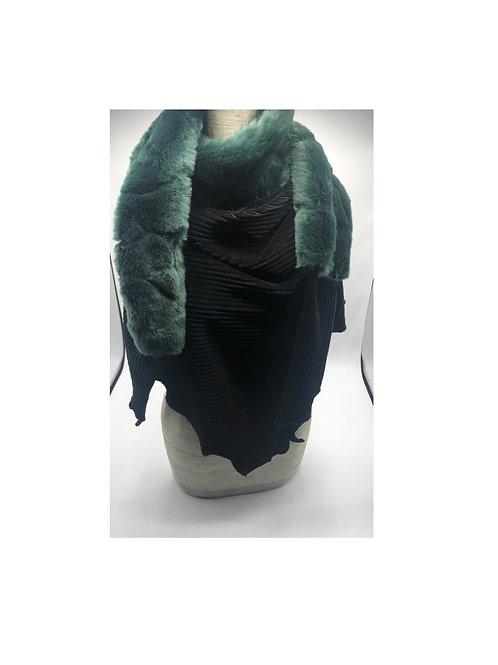 Halstuch schwarz-grün