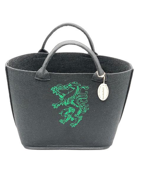 Einkaufstasche Filz Panther steirer