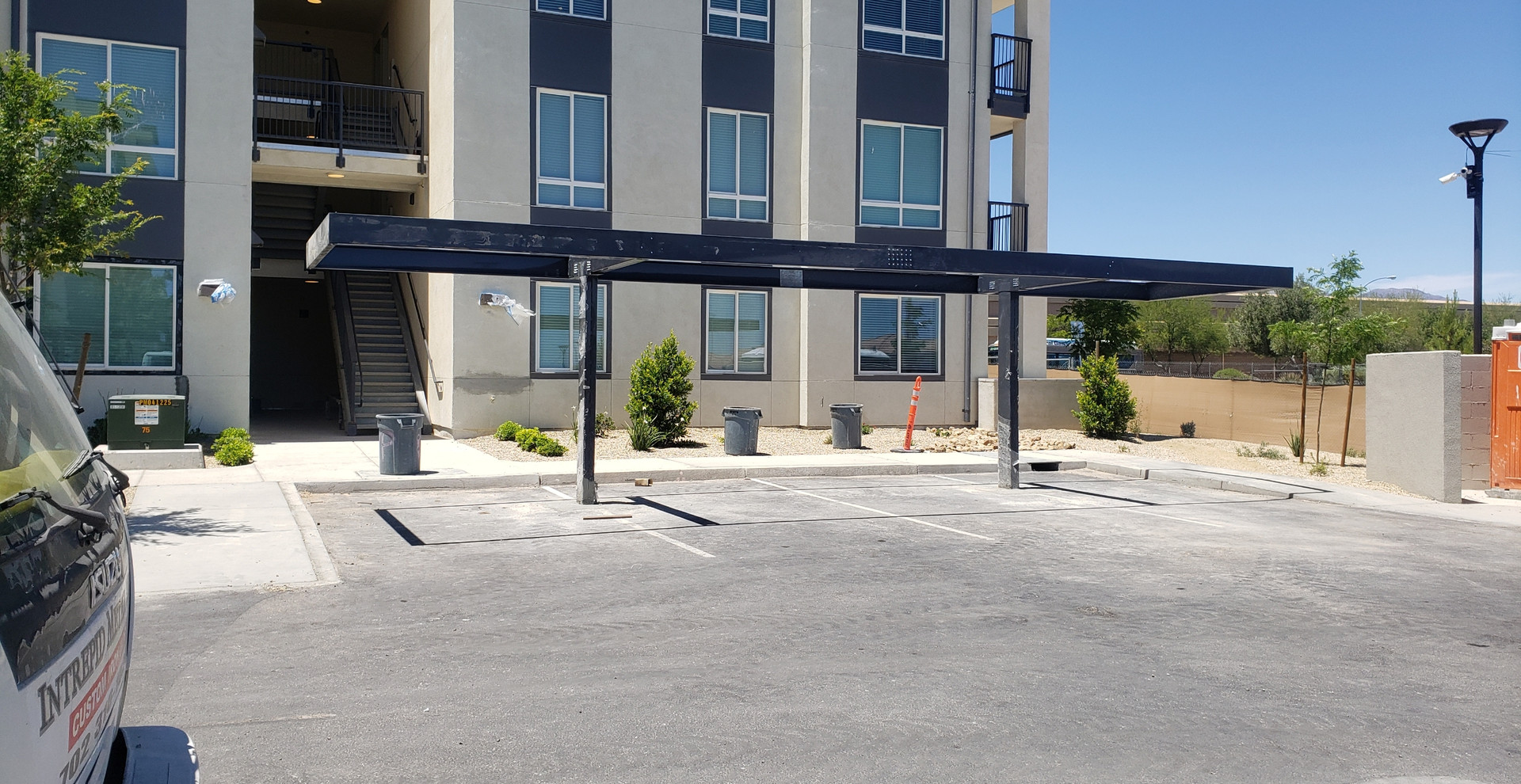 Commercial Carports For Apartments Las Vegas - Intrepid Metal Works Inc.