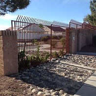 Commercial Tall High-Security Fences Las Vegas - Intrepid Metal Works Inc.