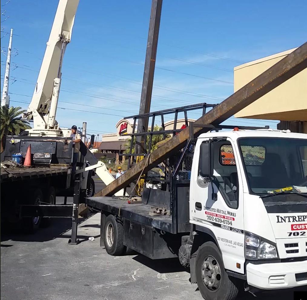 Commercial Structural Steel Las Vegas - Intrepid Metal Works Inc.