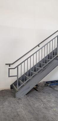 Steel Stairs Las Vegas - Intrepid Metal Works Inc.