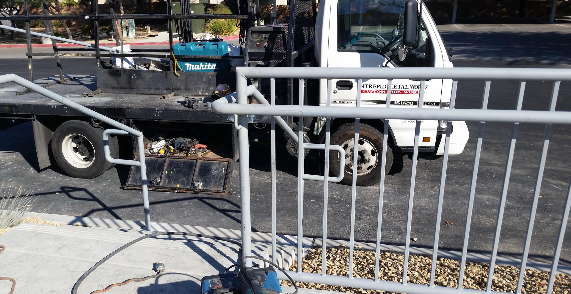 Commercial Railings Las Vegas - Intrepid Metal Works Inc.