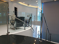 Commercial Railings Luxury Interior Las Vegas - Intrepid Metal Works Inc.