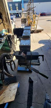 Tube Profile End Grinder Belt Sander Las Vegas - Intrepid Metal Works Inc.