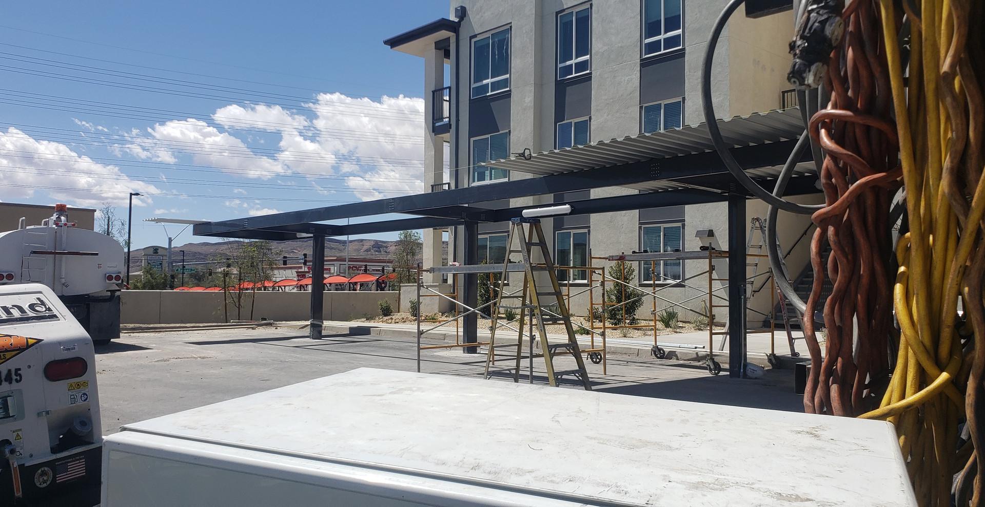 Commercial Carports by Las Vegas - Intrepid Metal Works Inc.