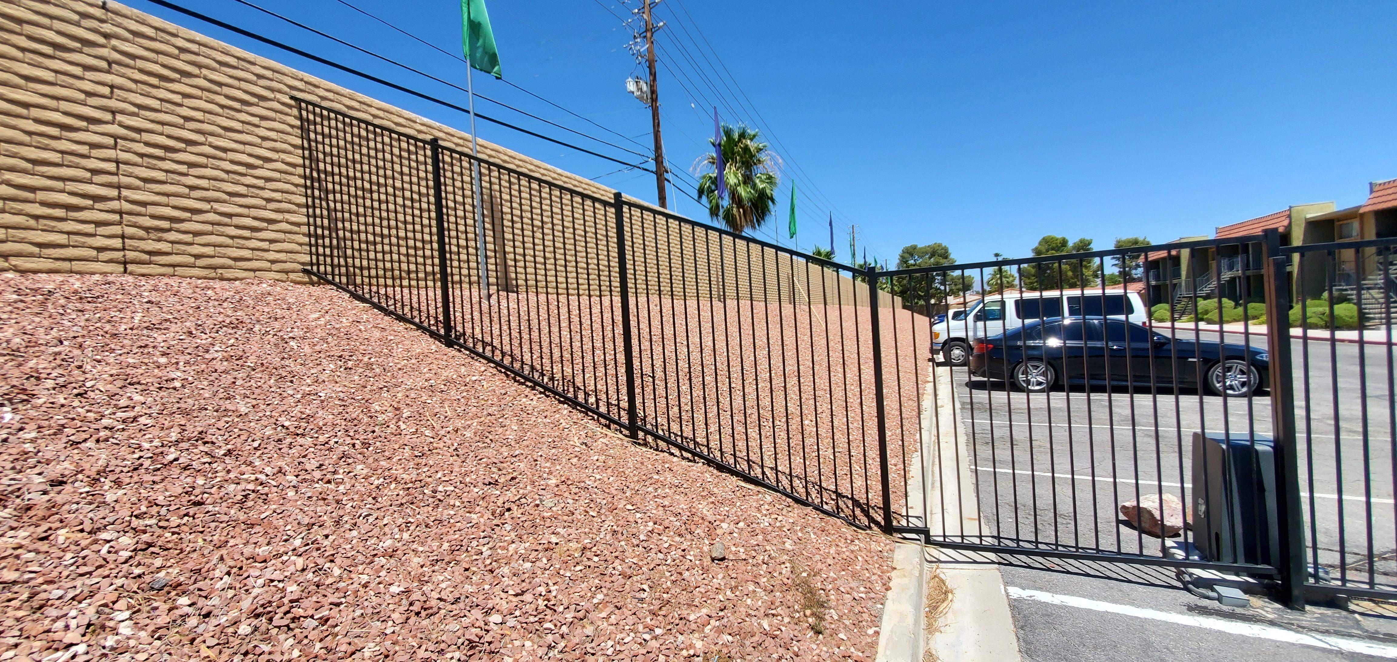 Apartment Fencing Las vegas - Intrepid Metal Works Inc.