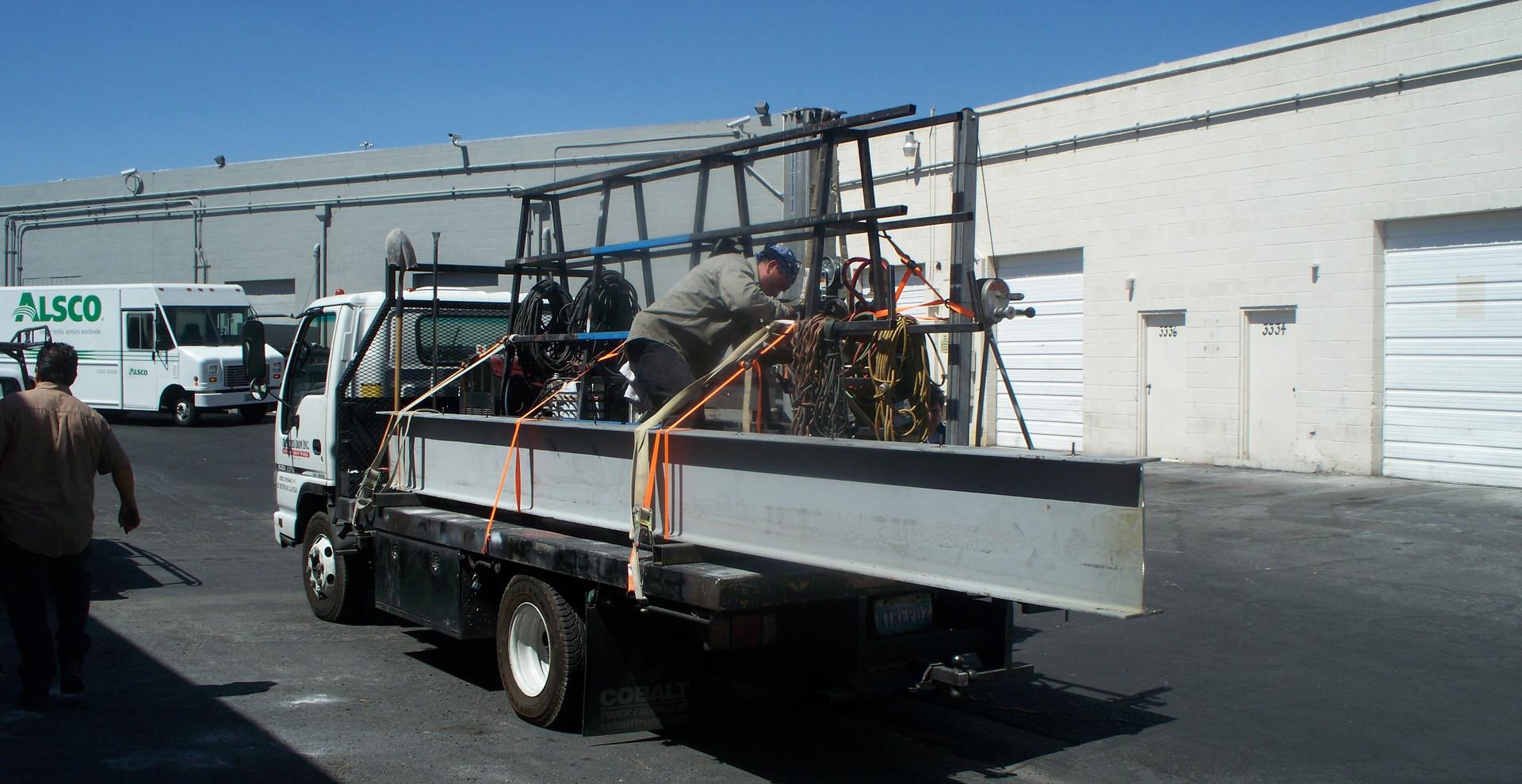 Main Home Beam Las Vegas - Intrepid Metal Works Inc.