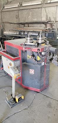 Hydraulic Roll Bender Las Vegas - Intrepid Metal Works Inc.