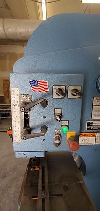 Scotchman 135 Ton 5-Station Dual Operator 135/220-24M IronWorker Las Vegas - Intrepid Metal Works Inc.