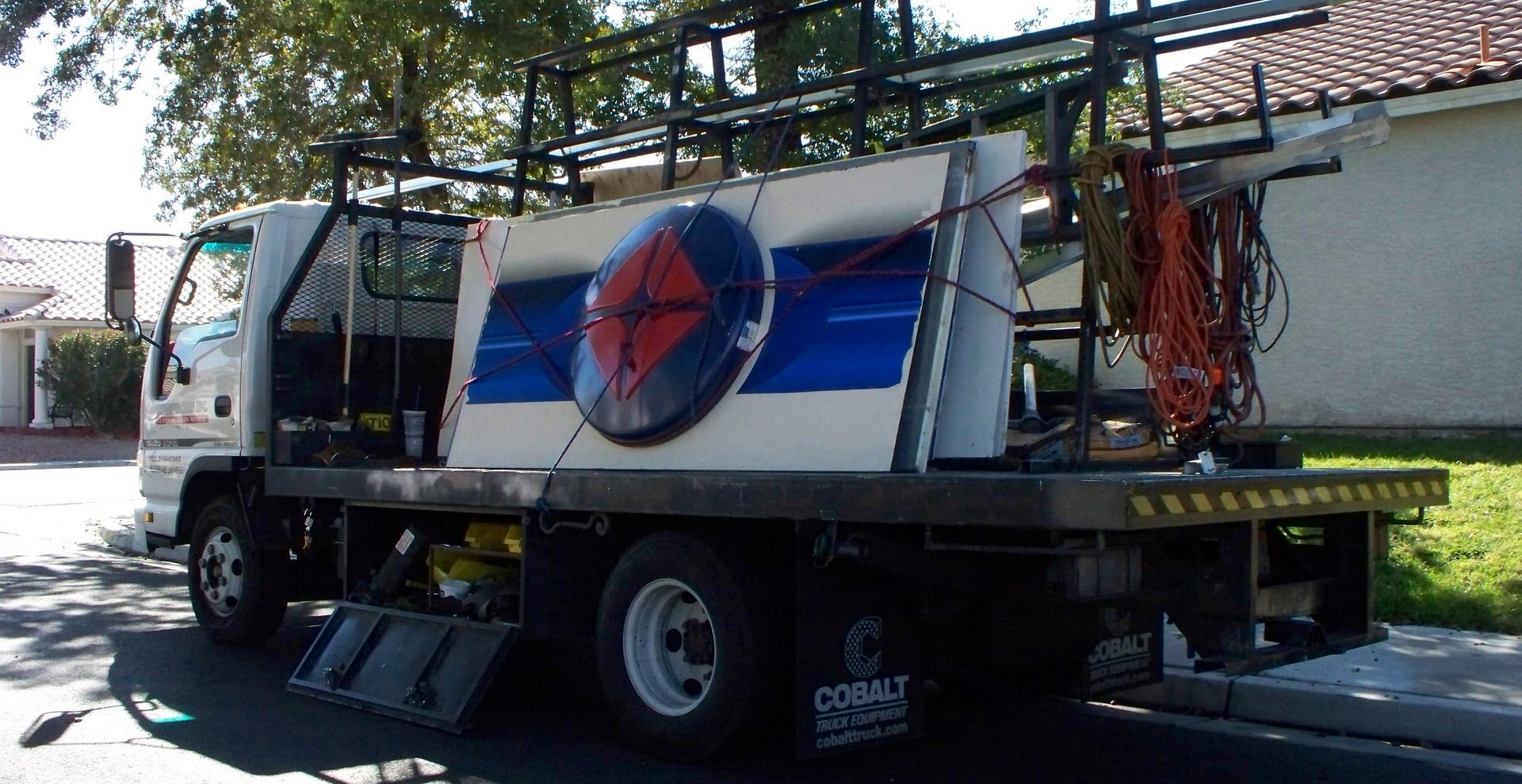 ARCO Gas Station Full Build Las Vegas - Intrepid Metal Works Inc.