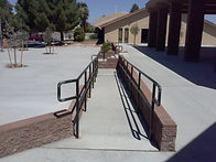 Commercial Railings Heavy-Duty Exterior Las Vegas - Intrepid Metal Works Inc.