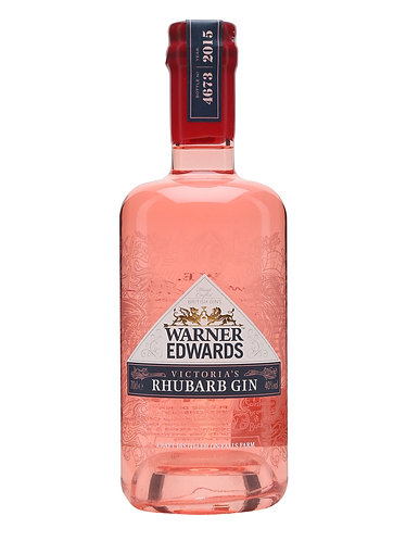 Warner Edwards Victorias Rhubarb Gin