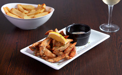 White bait available on starters