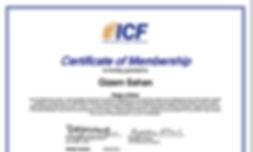 Gizem Şahan ICF Koçluk Belgesi
