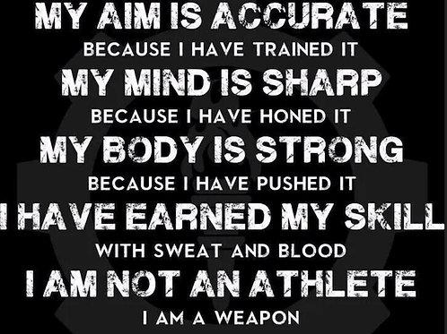 I AM A WEAPON T- Shirt