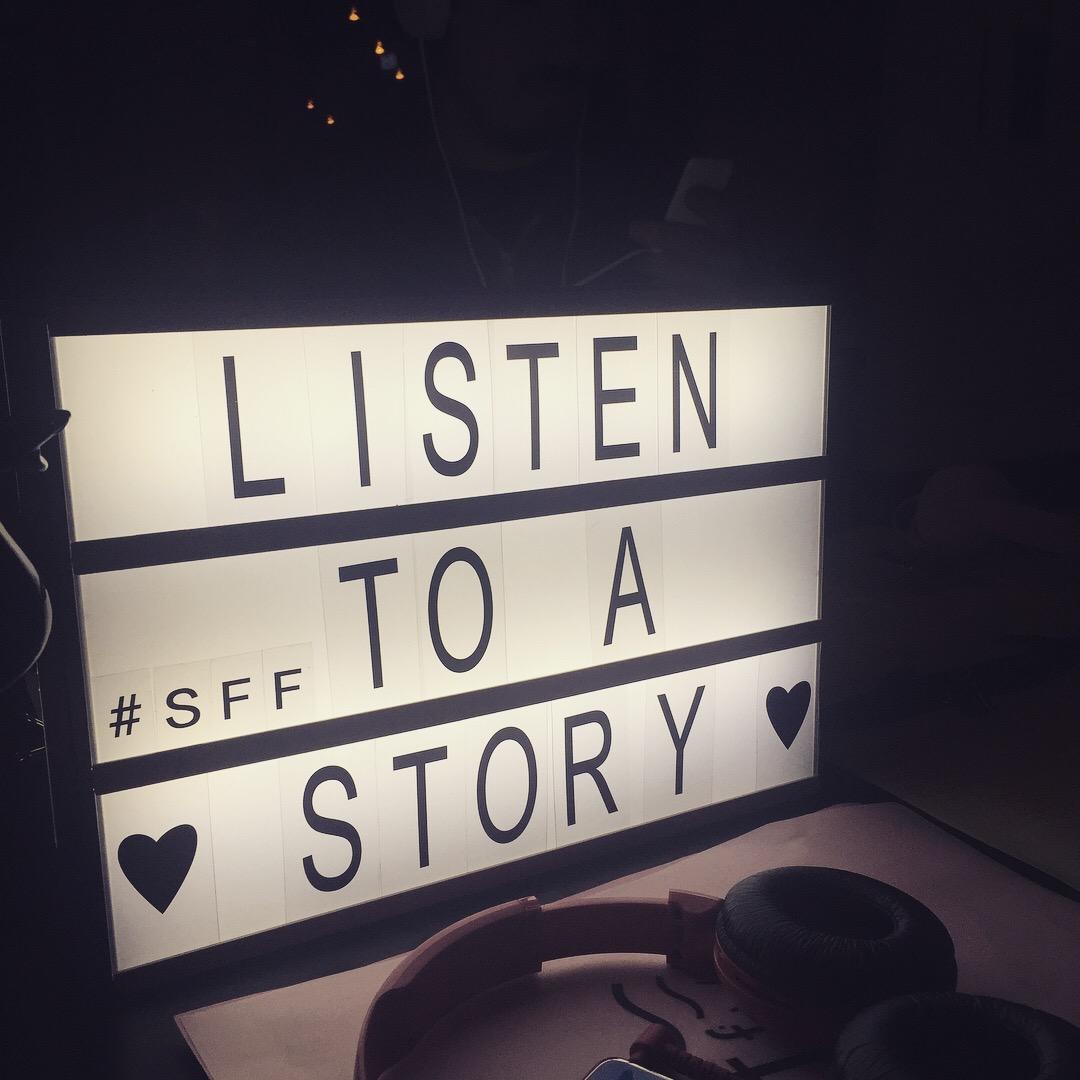 STORY LISTENING INSTALLATION