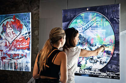 Exposition à Lausanne
