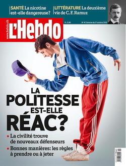Couverture magazine Hebdo