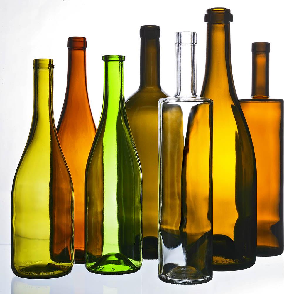 studio bouteilles de vins