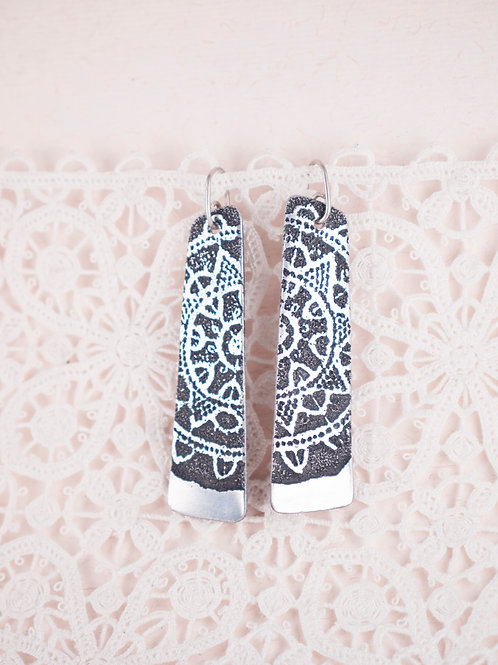 Framed Lace Earrings