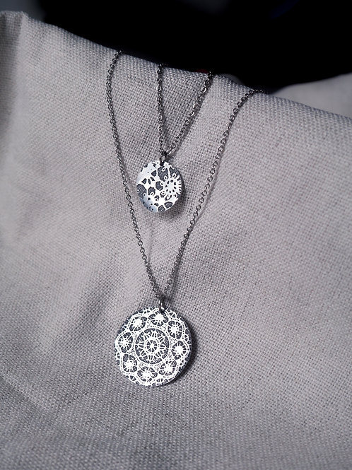 Double Sun Necklace