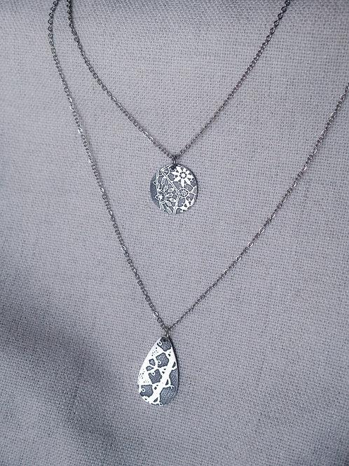 Double Lace  Necklace