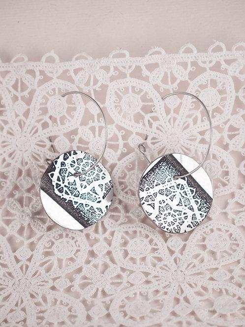 Token Lace Earrings