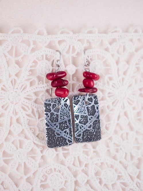 Corral Love Earrings