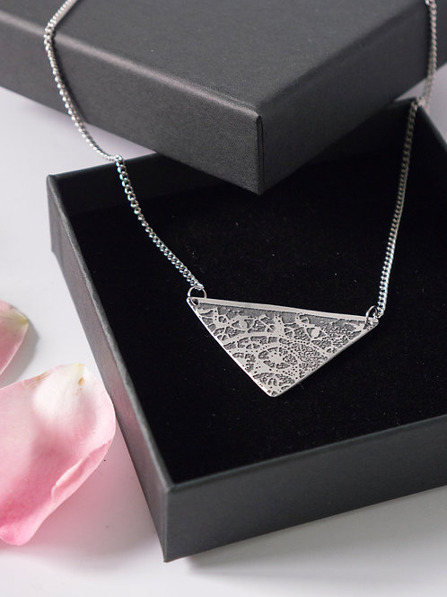 Triangle Lace Necklace