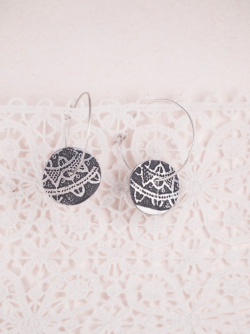 Baby Token Love Earrings