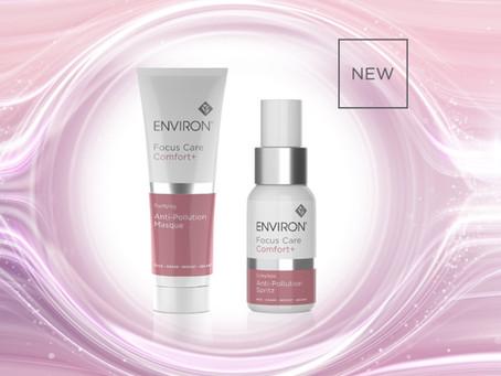 Environ's NEW Focus Care Comfort+ Anti-Pollution Spritz and Masque