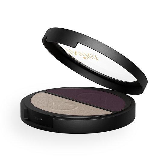 Pressed Mineral Eye Shadow Duo - Plum & Pearl