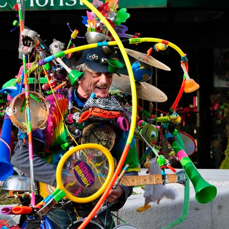 Ever see this guy in Boston Common? - The Professor World Band plays more than just catchy music...