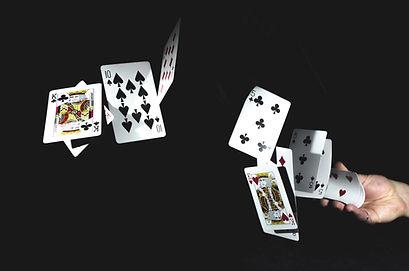Fliegen Spielkarten