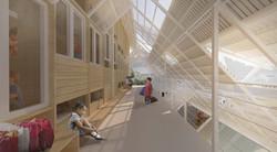Kindergarten corridor