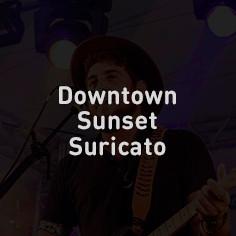Downtown Sunset Suritcato