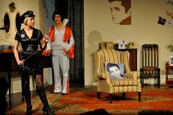Louise prepares to discipline Elvis