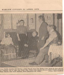 Review - Harlow Citizen 21 April 1972