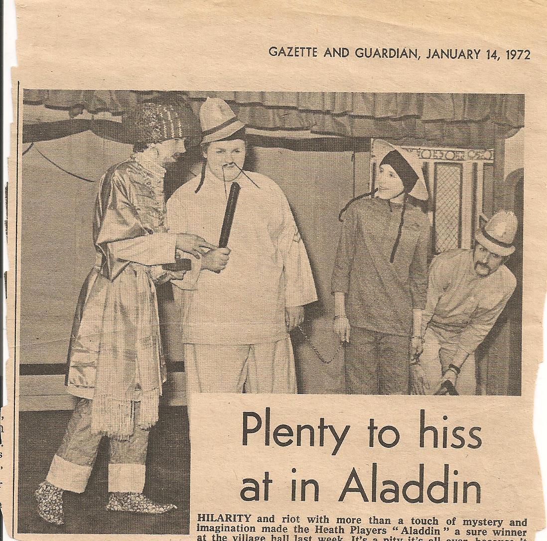 Aladdin  Gazette & Guardian Review 1