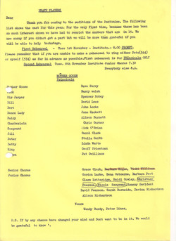 Cast Notice