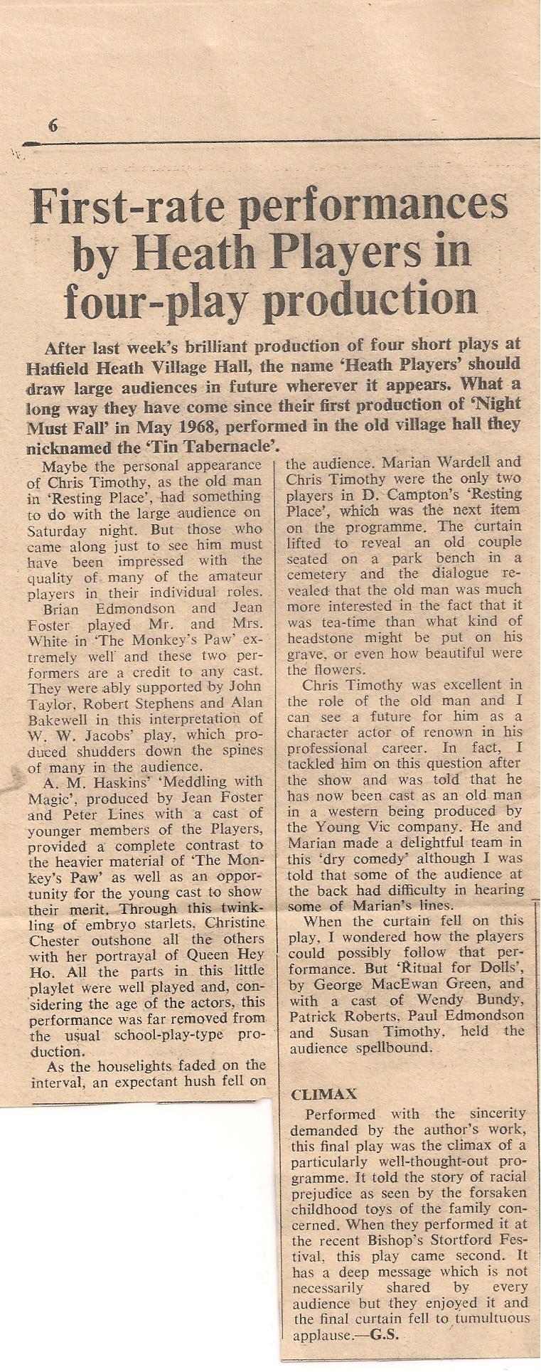 Review - Harlow Citizen 21 April 1972 (2)