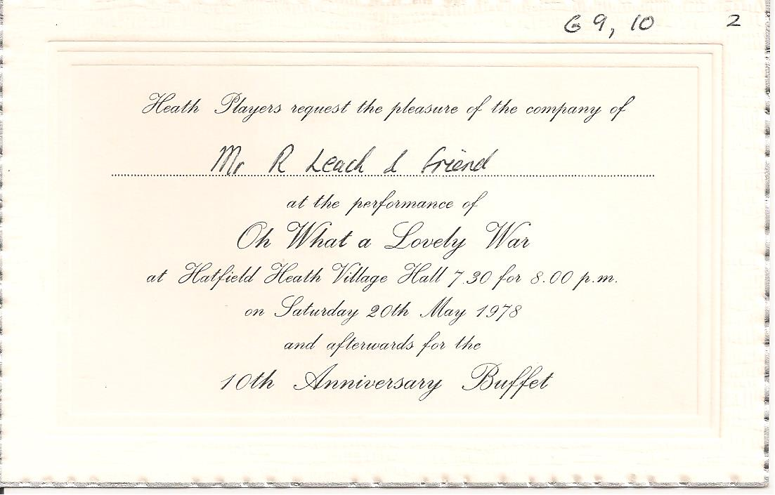 Members' invitation